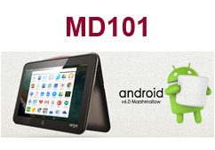 "The New 10.1"" Rugged Medical Tablet- MD101 Android Version"